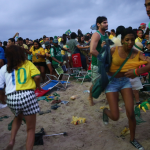 Armed Gang Carried Out Mass Robbery As Germany Humiliate Brazil 7-1