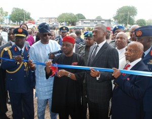 VP Sambo commissions some projects at the Airforce school, Enugu