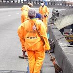 Lagos: Sacked Street Sweepers Protest Non-Payment Of Severance Allowance