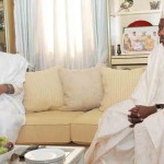"Babangida Drums Support For Jonathan's Re-election; As President Describes IBB As His ""Father"""