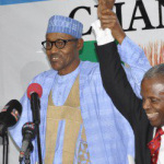 Finally, Buhari Formally Unveils Osibajo As His Running Mate