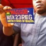 MASSOB Launches Own Vehicle Number Plate