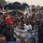 "Buhari Storms Enugu, Says ""Corruption Will Kill Nigeria"""