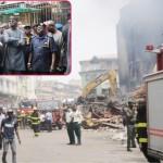 Fashola Visits Burnt Balogun Market, Pledges Assistance For Affected Traders
