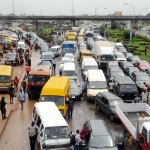 Lagos Commuters Groan Under Traffic Gridlock As PDP Kicks Off Presidential Campaign