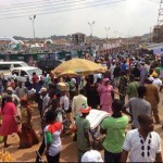 Huge Crowd Attends Jonathan's Campaign Rally in Ondo State