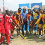 Promasidor, Makers Of Cowbell Donates 1000 Hockey Sticks To 24 Secondary Schools In Lagos