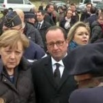 Leaders Pay Special Visit To The Germanwings Crash Site