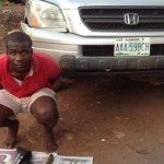 Police Nab 27-Year-Old Graduate For Car Snatching In Enugu