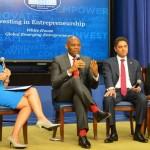 Elumelu Joins Obama At White House To Champion Entrepreneur-Led Development For Africa