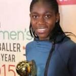 Nigeria's Asisat Oshoala Emerges BBC Women's Footballer Of The Year
