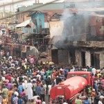 Updated: Another Lagos Tanker Fire Burns 34 Houses, 70 Shops