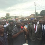 Abia Governor Ikpeazu Flags Off Seven New Roads In Aba In His First Day In Office