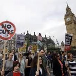 World News: Protesters Kick Against New UK Government's Austerity Plan