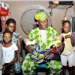 Lagos SpeakerVisits Mother Of 3 Pairs Of Twins Abandoned By Hubby
