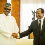 Buhari, Biya Agree To Complete Demarcation Of Nigeria-Cameroon Land Border By 2015