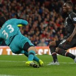 Sports: Peter Cech Saves Deny Liverpool
