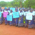Enugu Women Protest Against Fulani Herdsmen's Destruction Of Farm Lands And Raping