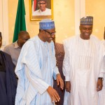 Photo News: Buhari Meets with Leaders of National Assembly – 7/10/15