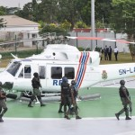 Photo News: AMBODE HANDS OVER PATROL VEHICLES, APCs, GUNBOATS, HELICOPTERS TO NIGERIA POLICE