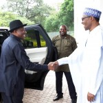 Jonathan Pays Second Visit To Buhari At Aso Rock