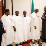Photo News: Buhari Hosted Senators To Dinner At State House, 25/11/15