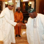 Photo News: Buhari Receives Obasanjo on Tuesday At State House, Photo By Sunday Aghaeze