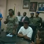 Semenitari Resumes as new NDDC Boss, Promises To Actualise Buhari's Vision For Niger Delta