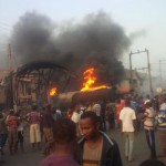 Again, Fire Razes Two Gas Stations In Anambra