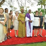 Mrs Buhari Meets Wives of Heads of Mission