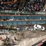 Ten Die, 60 Injured As Flyover Collapses In India