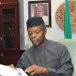 Osinbajo Meets With Buhari in London