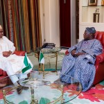 Obasanjo In Another Private Meeting With Buhari