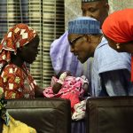 Rescued Abducted Chibok Girl Arrives Presidential Villa To Meet Buhari