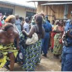 Naked Women Protest Against Detention Of Community Leader In Ebonyi