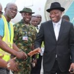 Jonathan Returns to Nigeria