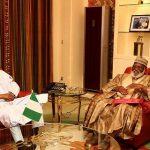 Buhari Meets With AbdulSalami Abubakar On State Of Affairs