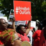 Chibok Girls: BBOG Coalition Stages Silent Protest In Abuja; Failed To Access The Villa