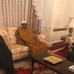 Again, Buhari Poses in Pictures with Tinubu, Akande in London