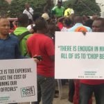 Many Protest Against Buhari over Poor Governance As 2Baba Debunks Arrest Rumour