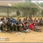 Rivers Rerun: Soldiers Arrest PDP Official, 50 Thugs