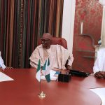 Saraki, Dogara in Closed Door Meeting With Buhari