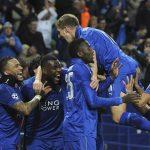 SPORTS: Leicester Stun Sevilla to Reach Champions League Q/Final