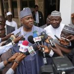 Our Meeting With Buhari Not for Fence Mending -Saraki