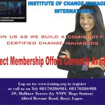 ICMI Offers Direct Membership to Change Managers