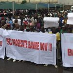 LG Poll: Lagos APC Members Protest Against Muiz Banire