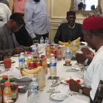 Lunch in London, Anxiety in Nigeria, by Reuben Abati