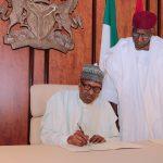 President Buhari Resumes, Writes National Assembly
