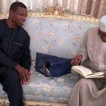 Pastor Adeboye Visits Buhari in London