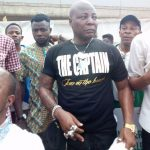 Anti-Buhari Protest: Charley Boy Escapes Attack from Pro-Buhari Crowd